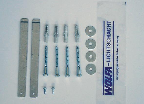 kit di fissaggio orveg