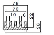 Aquastop AS78 sezione orveg