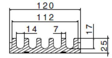 Aquastop ASU120 sezione 2 orveg