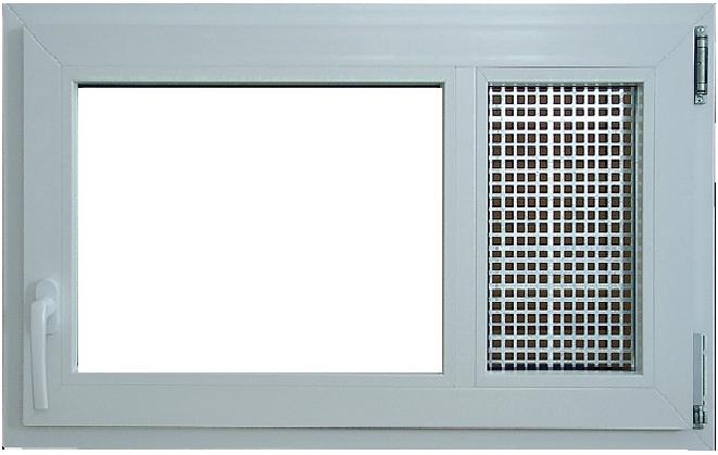 Finestra mdk con griglia di aerazione orveg
