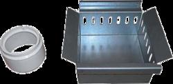 Pozzetto quadrato accessori orveg